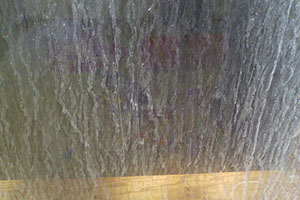 Limescale Mineral Deposits on Glass