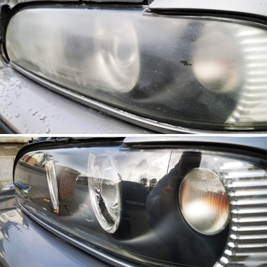DIY Headlight and Tail-Light Polishing Kit