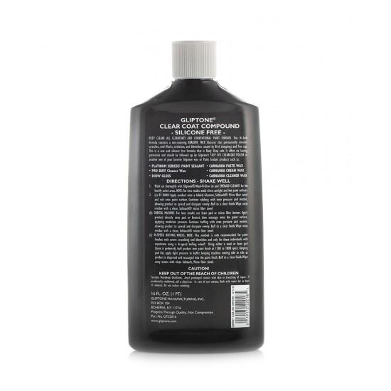 Gliptone Clear Coat Compound 475 ml (16 oz)