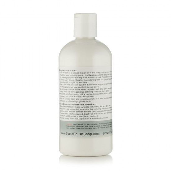 Plastic and Acrylic Cutting Compound 500ml / 16.9oz