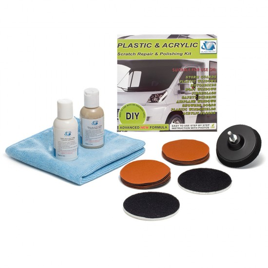Plastic and Acrylic Restoration Kit - Do-It-Yourself