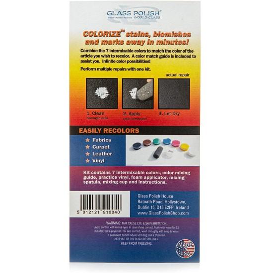 DIY Colorize Leather, Vinyl, Fabric and Carpet  Repair Kit