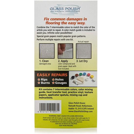 Vinyl Floor & Vinyl Tile Repair Kit - Do It Yourself - Heat Cure