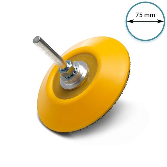 """75mm ( 3"""") Spindle Pad M6 - soft"""