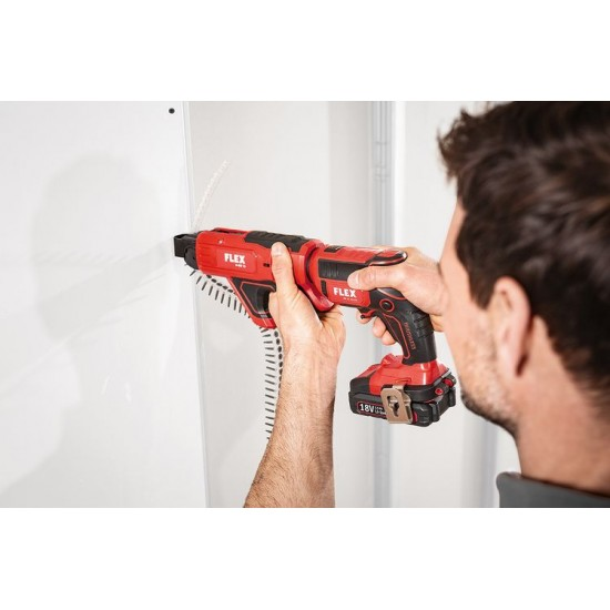 Flex DW 45 18.0-EC M/2.5 Cordless drywall screwdriver Set
