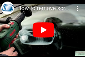 How to remove scratches from car side windows using DIY Scratch Repair Kit