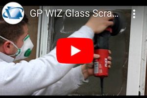 Removing scratches from patio door with PRO GP-WIZ System & Flex polisher