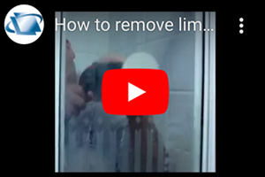 How to remove limescale deposits  from acrylic shower using DIY polishing kit.