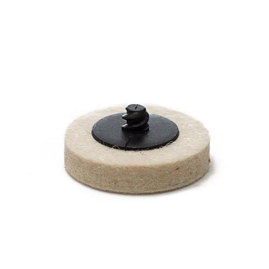 "Quick-Lock Felt Buffing Pad / 2"" (50 mm) - 3 pk"