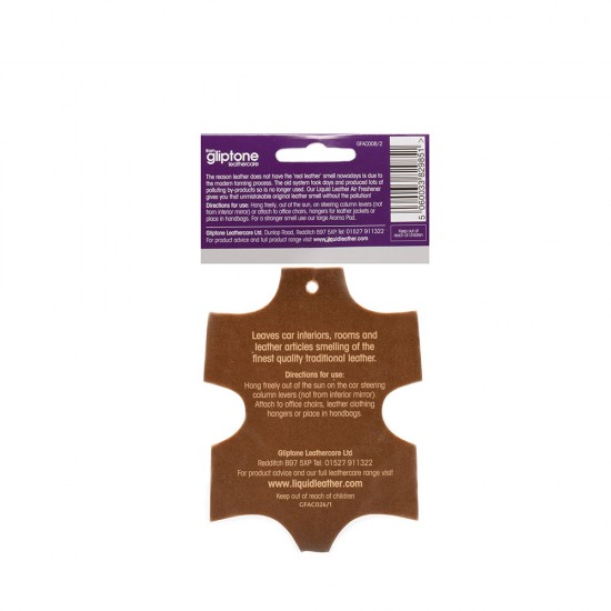 Liquid Leather - Scented Air Freshener / 3 pack