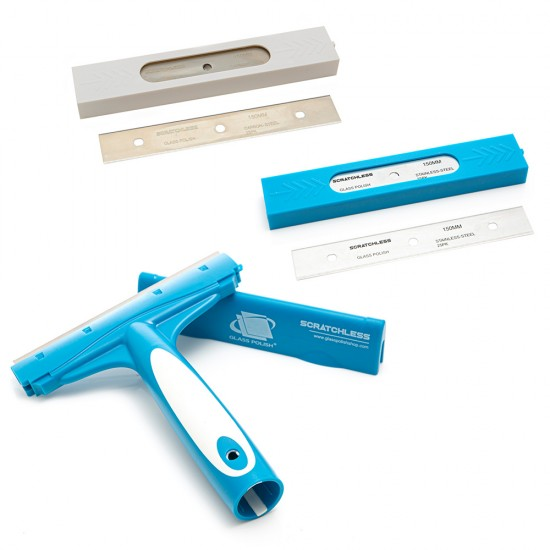 SCRATCHLESS Professional Scraper  and Blades Kit