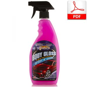 Body Gloss Spray and Shine
