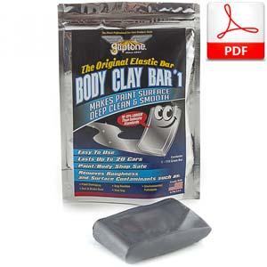 Gliptone Car Body Clay Bar