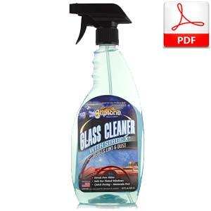 Gliptone Glass Cleaner with Statix