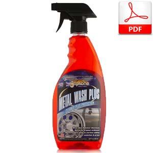 Gliptone Metal Wash Plus Wheel Cleaner and Sealant